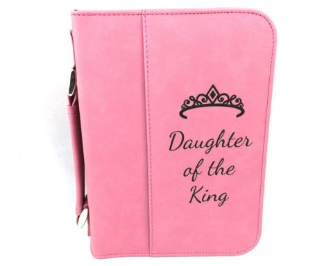 Daughter of the King Bible Cover