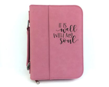It Is Well With My Soul Bible Cover