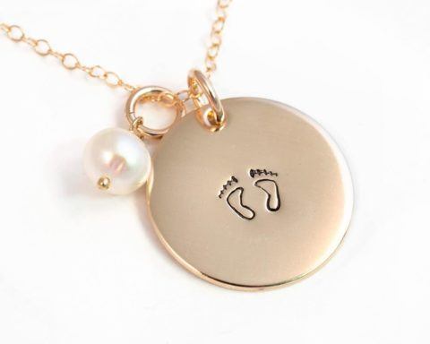 Gold Miscarriage Necklace