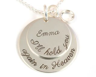 I'll Hold You Memorial Necklace