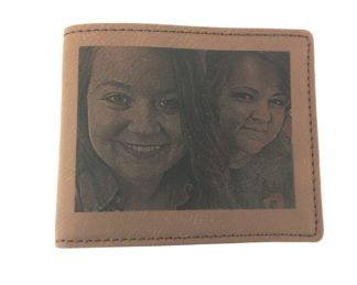 Brown Photo Wallet