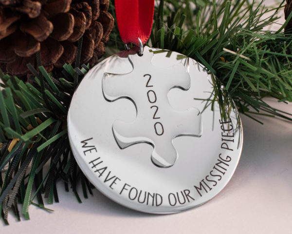 Missing Piece Ornament